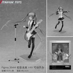 No Brand Figma 394 Hatsune Miku v4x Movable Boxed Figure 14CM detail image