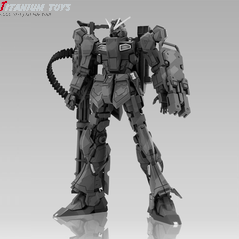 MC Models Nu Gundoom Ground Type with Custom Gatling Gun detail image