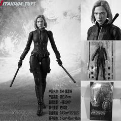 No Brand The Avengers SHF Black Widow 15CM detail image