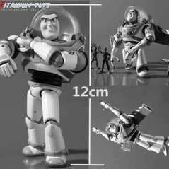 No Brand Yamaguchi Buzz Lightyear Gear joint eye movable Boxed Figure 12CM detail image